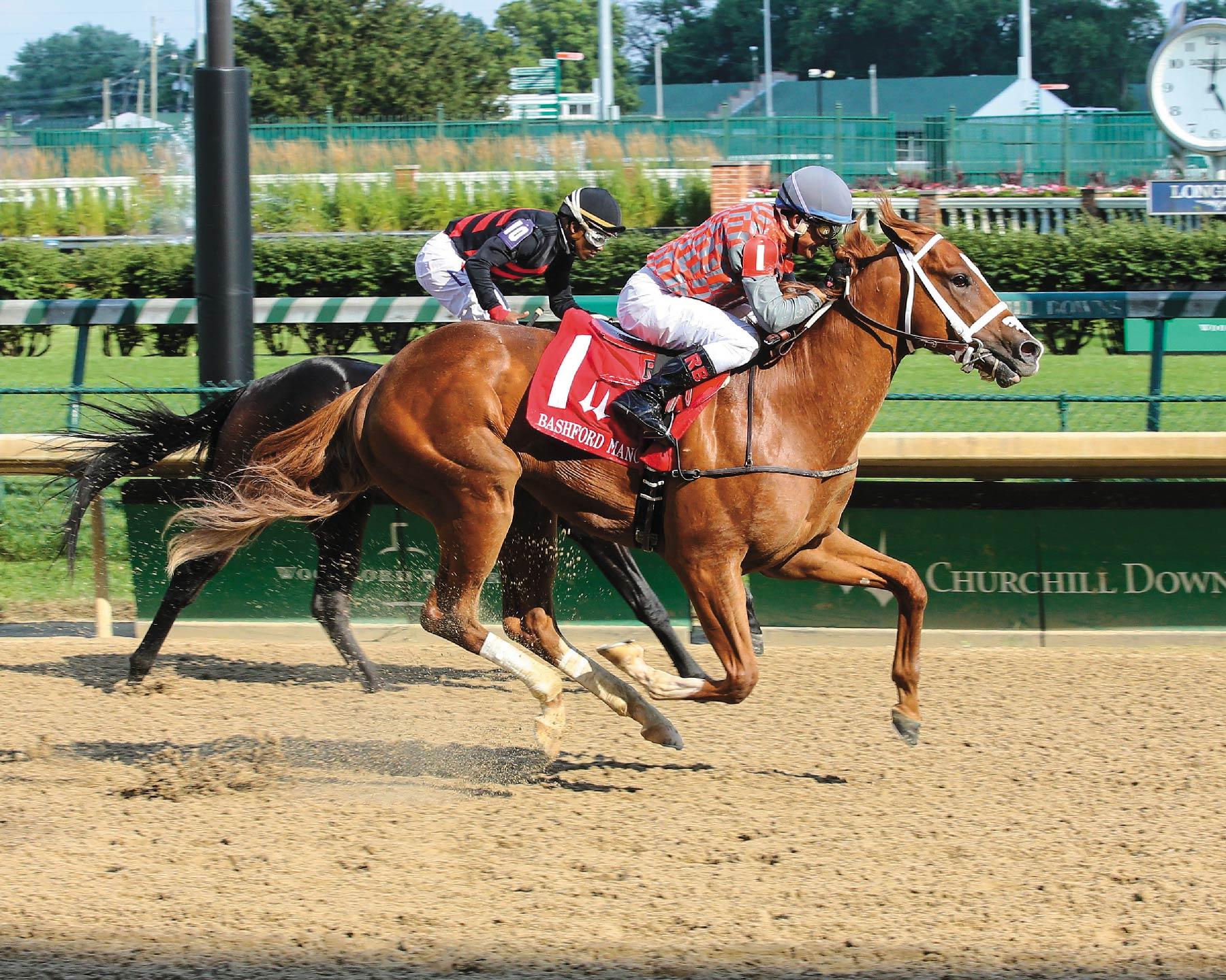 Phantom Boss Horse Winning Race